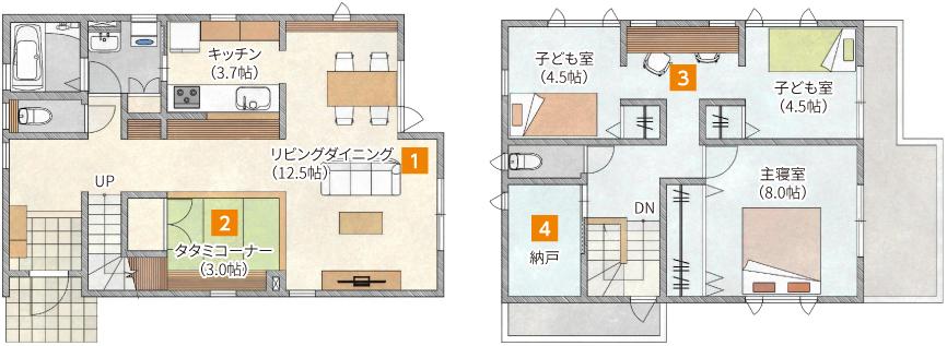 ENETOMOの家図面イメージ